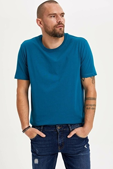 DeFacto Basic T-shirt Yeşil